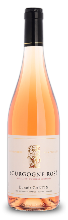 Discover Domaine Benoit Cantin's Burgundy Rosé, pleasant and fruity to be served chilled.