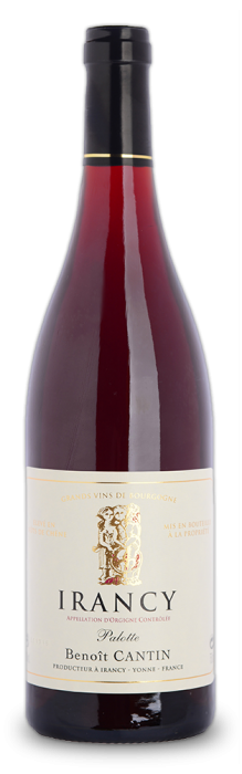 Discover the Irancy Palotte from Domaine Benoit Cantin, red fruit aromas, tannic and heady