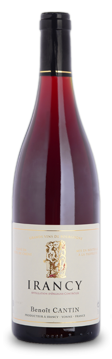 Discover the Irancy of Domaine Benoit Cantin, a subtlety of red fruits, already tender and pleasant.